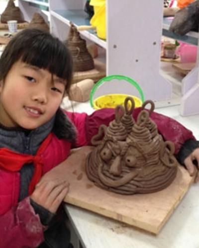 小泥人陶藝
