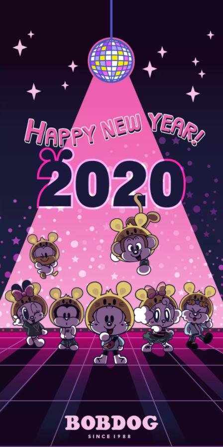 BOBDOG   2020即将到来,祝大家元旦快乐
