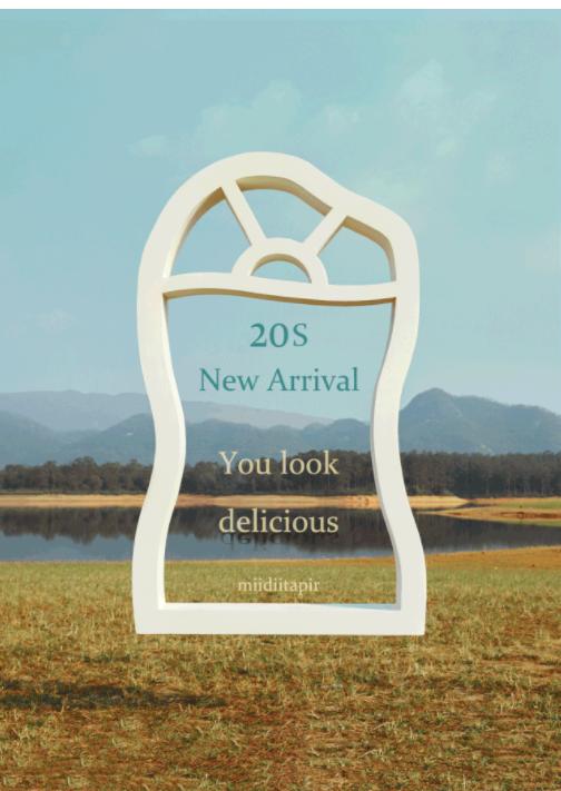 2020Spring 形象片miidiitapir食夢獸童裝|你看起來很好吃