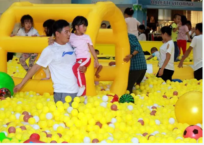 室內兒童樂園游樂設備的擺放方法,學習一下