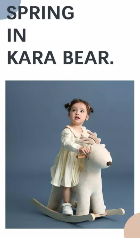 躲在云里的春風 丨卡拉貝熊童裝2020春季新款