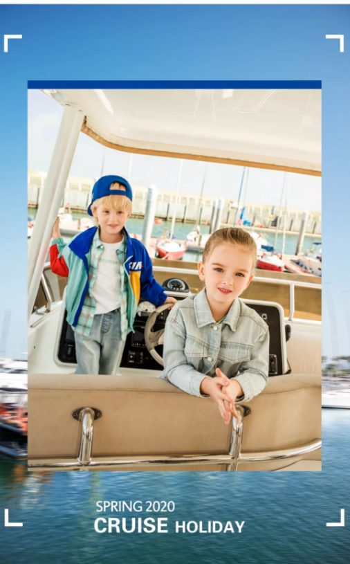 S&N 2020 | 辛巴娜娜童装春季上新 游轮初体验