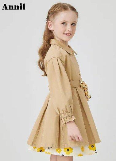 安奈兒童裝春季上新:著新衣共迎春暖花開