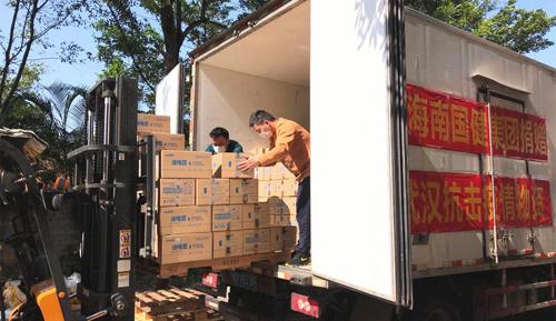 高培再行动,捐赠100万元奶粉驰援湖北一线医护人员