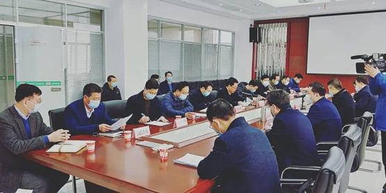 宝鸡市市委常委、副市长王宁岗等领导莅临和氏乳业集团检查企业复工复产