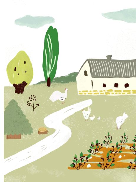 糖卡布衣 春日農場|一起去郊游!