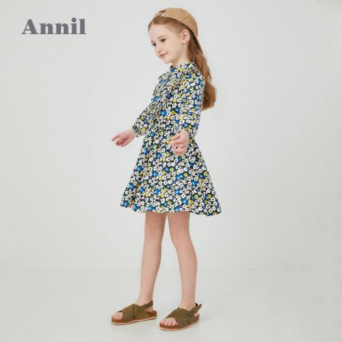 安奈兒Annil童裝春季上新:春天就在小朋友的衣服上