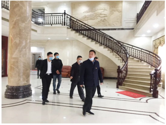 南安市政協主席黃華強到幫登公司調研企業安全生產和防疫工作