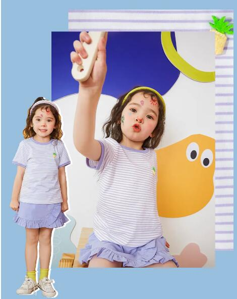 Minibalabala童装一起解锁沁爽夏日方程式!