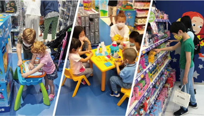 玩具反斗城坚持OMO战略,疫情后再开200家新店