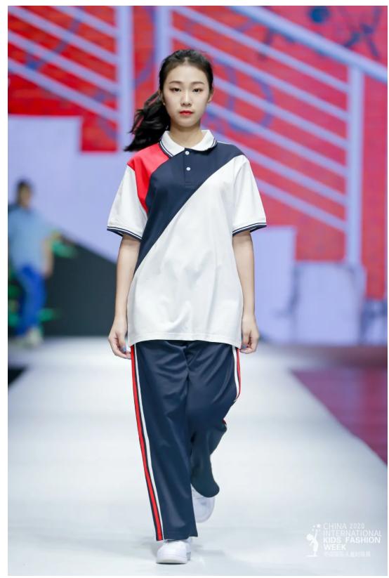 梦想力+新国风!新华•蓝帝狮亮相中国国际儿童时尚周
