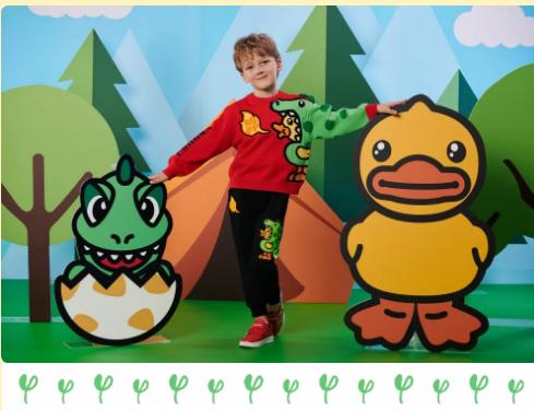 B.Duck小黄鸭仿生小恐龙系列来袭,探险之旅开始啦!