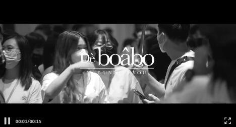 恭祝boabo(宝儿宝)2022春&夏新品发布会圆满成功!