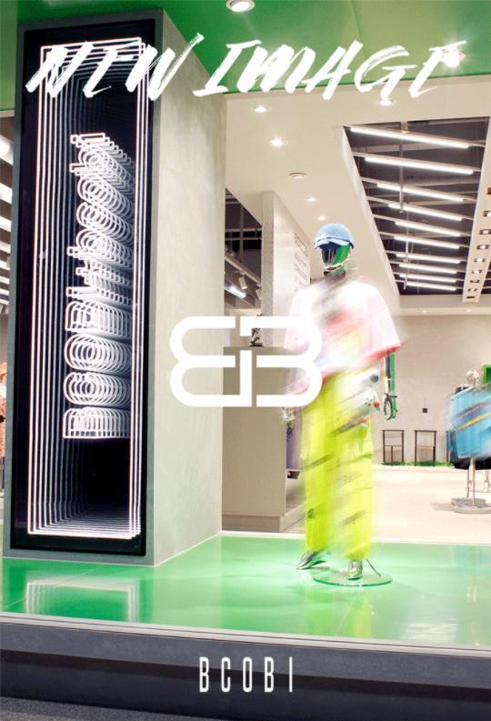BCOBI品牌升级,全球首家艺术化品牌机能展厅燃酷登场