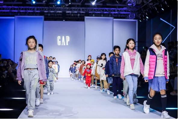 Gap携萌娃亮相KIDS WEAR上海时装周 发布2022年春夏季童装新系列