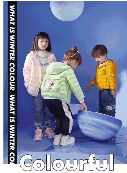ABCKIDS色彩主义丨轻羽绒 暖出彩