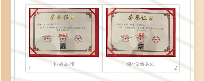 """大帝(企业)集团荣获特等奖、一等奖   """"海尚威达杯""""第三届全国学生装设计大赛"""