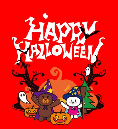 杰米熊Halloween | 万圣节出动