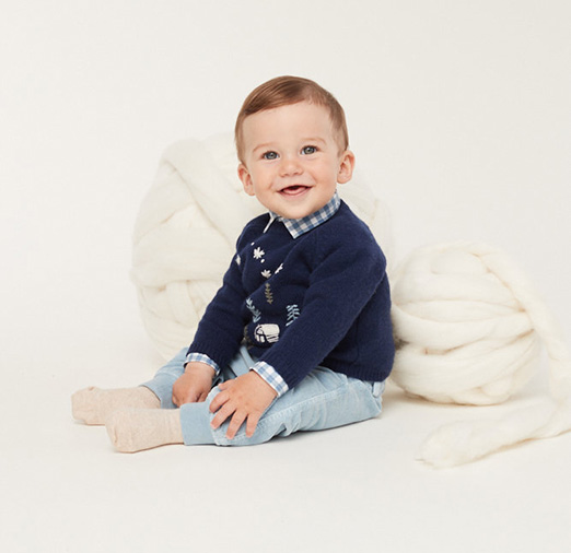 ilgufo打造北鼻秋冬穿搭,精選柔軟的毛線衫