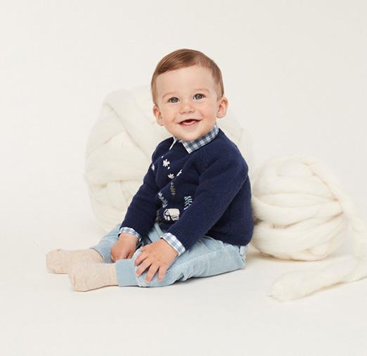 ilgufo打造北鼻秋冬穿搭,精选柔软的毛线衫