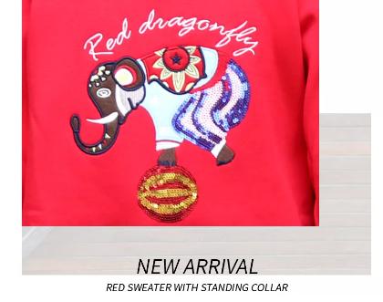 紅蜻蜓KIDS加絨衛/毛衣,讓你又暖又時髦~