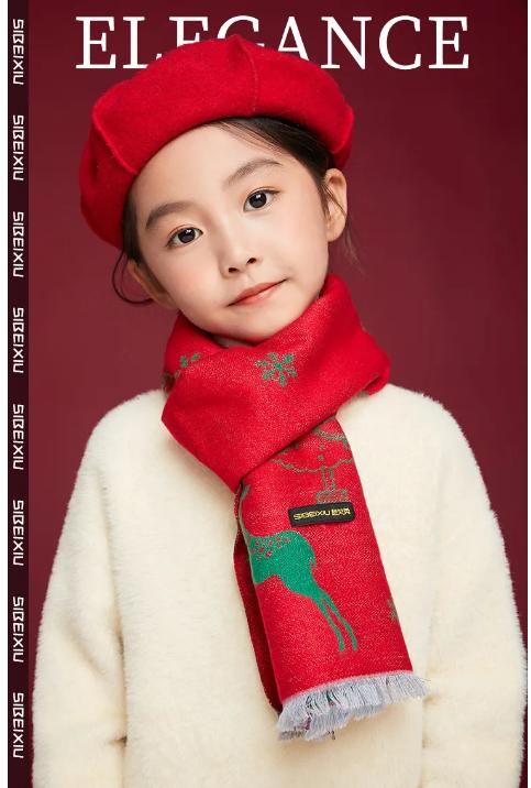 思贝秀上新|圣诞百搭精品围巾