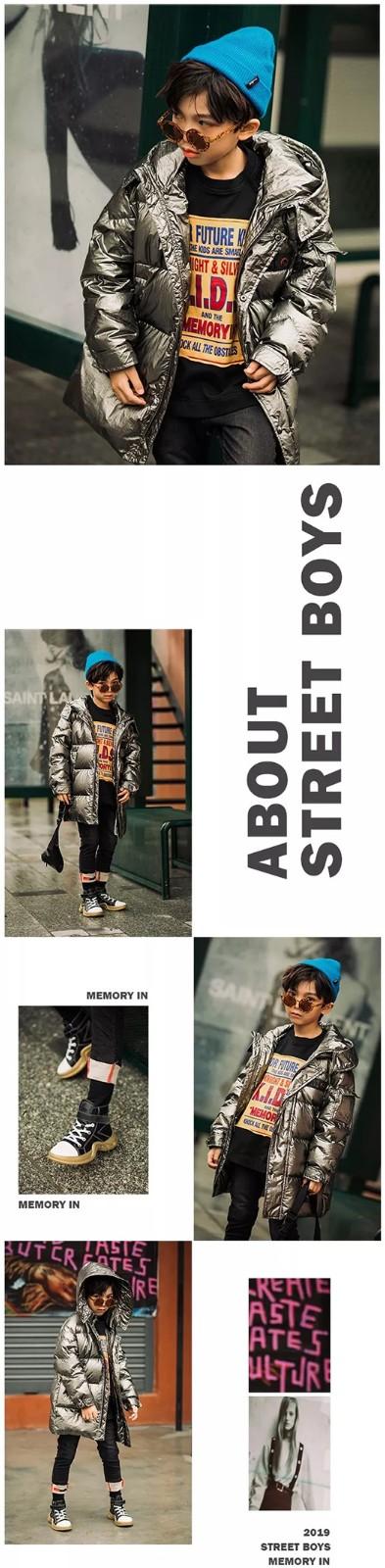 两个小朋友MemoryIn 行走的在街头的男孩