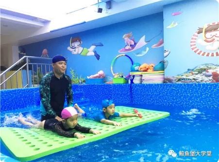 鯨魚堡嬰兒游泳館河北承德店盛大開業