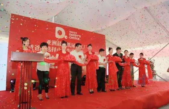 亞洲最大紙尿褲工廠爸爸的選擇生產基地一期竣工