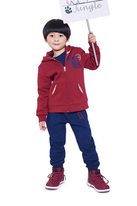 穿潮流的361°童裝,做朝氣的361°兒童