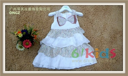 琴其拉童裝夏季暢銷熱賣公主裙