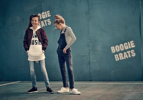 """H&M推出""""重返校园""""童装系列:从音乐中获取灵感"""