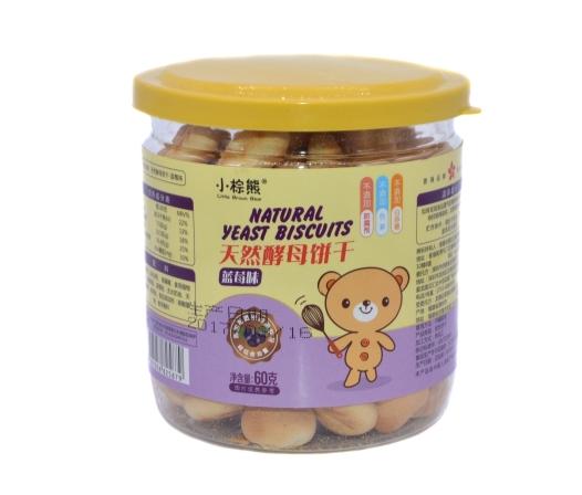 小棕熊天然酵母饼干 带给宝宝不一样的营养味道