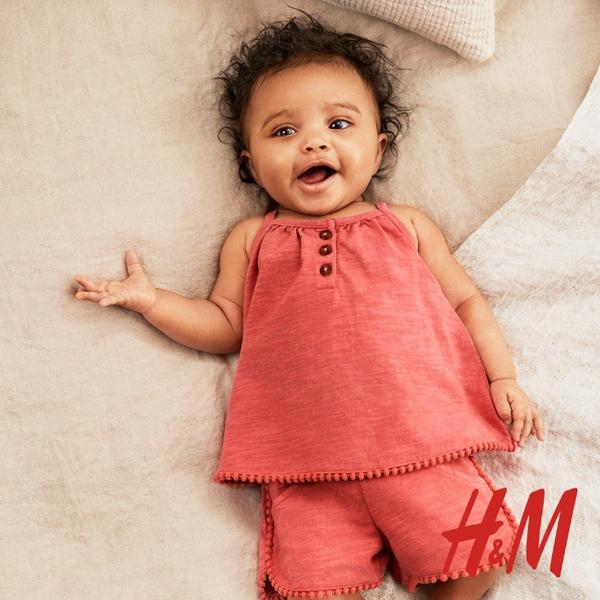 H&M2016夏季新款童装服饰搭配流行画册