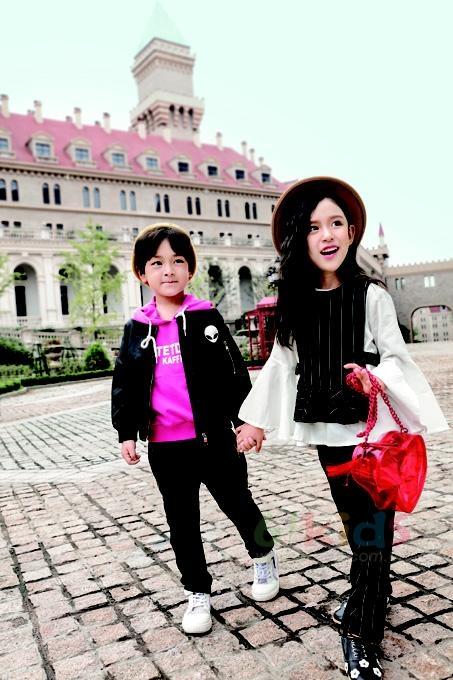 維尼叮當童裝 健康正能量 讓孩子們穿出快樂