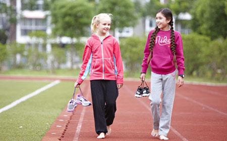 """慶""""六一""""耐克在華推出少兒運動課程 促進健康成長"""