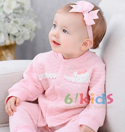 ELALA衣拉拉2015秋冬婴儿保暖内衣套装