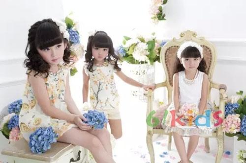 穿上阳光去嬉戏 DIZAI童装2015夏季新品活力上市