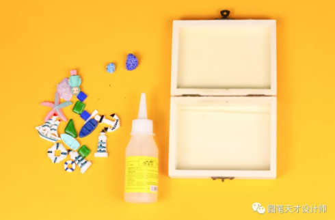 圓筆手工 ▏DIY海洋風格儲物盒的制作