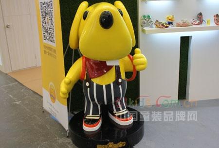童鞋品牌時尚狗狗精彩亮相2014CBME上海孕嬰童展