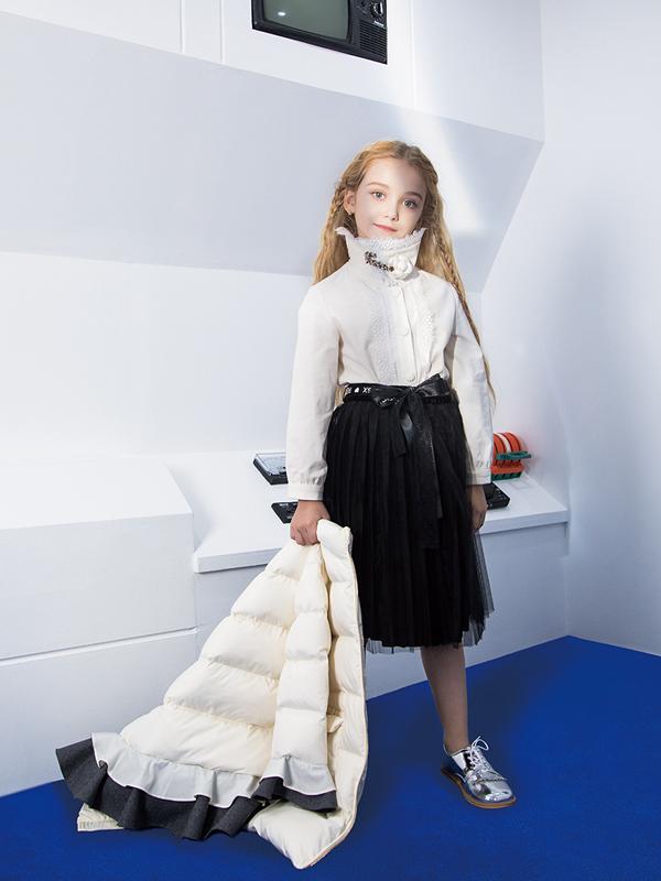 瑞比克輕奢童裝2019冬季新品推出