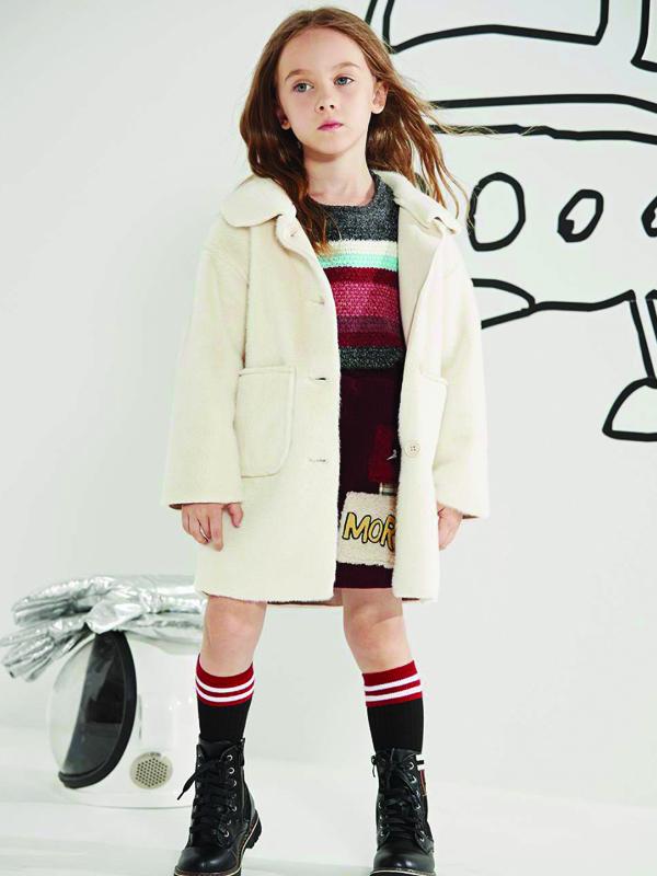 MQD馬騎頓童裝2019冬季女童服飾新品