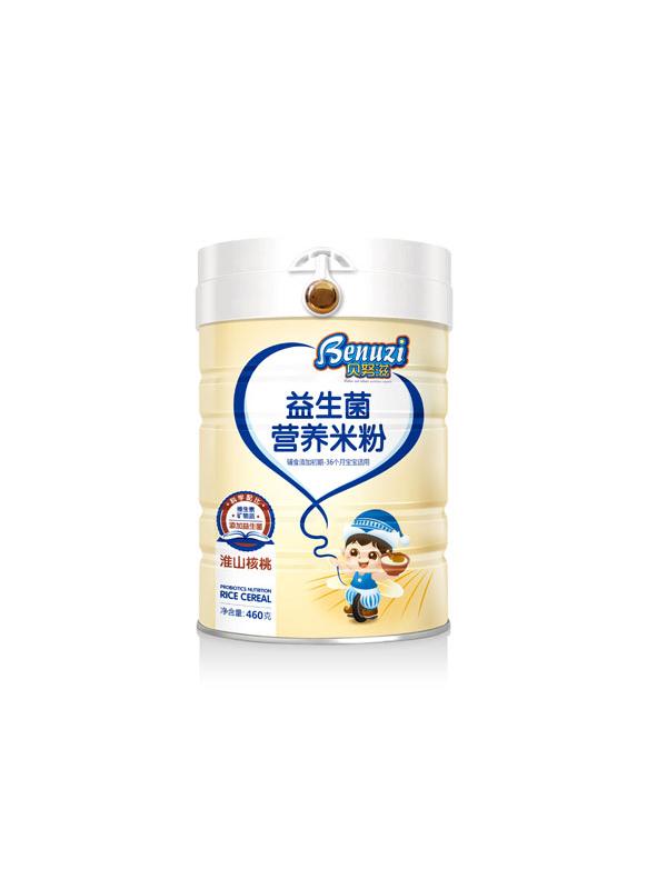 貝努滋嬰幼兒益生菌有機米粉