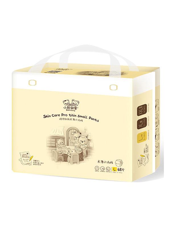 小熊做客嬰兒紙尿布新品上市