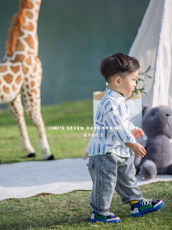 幾米JIMI品牌童裝新品展示