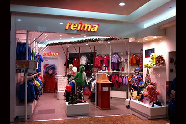 Reima店鋪形象