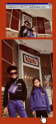 ABCKIDS童裝福利上新丨讓撞色開啟復古街頭風
