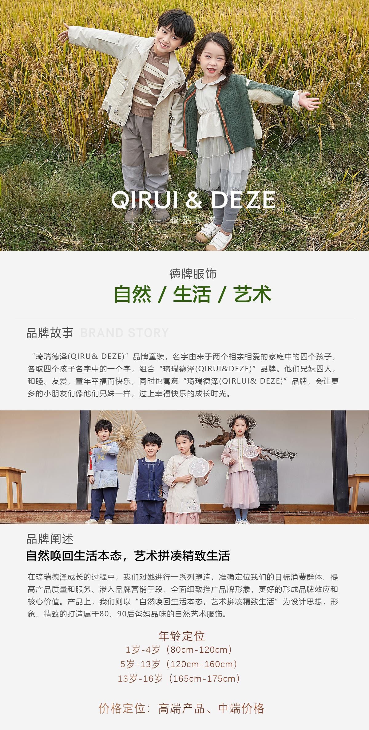 琦瑞德泽QIRUI&DEZE成招全国加盟商