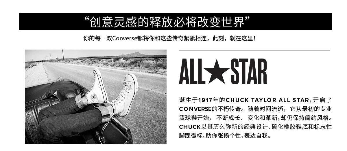 Converse(匡威),全球知名運動品牌
