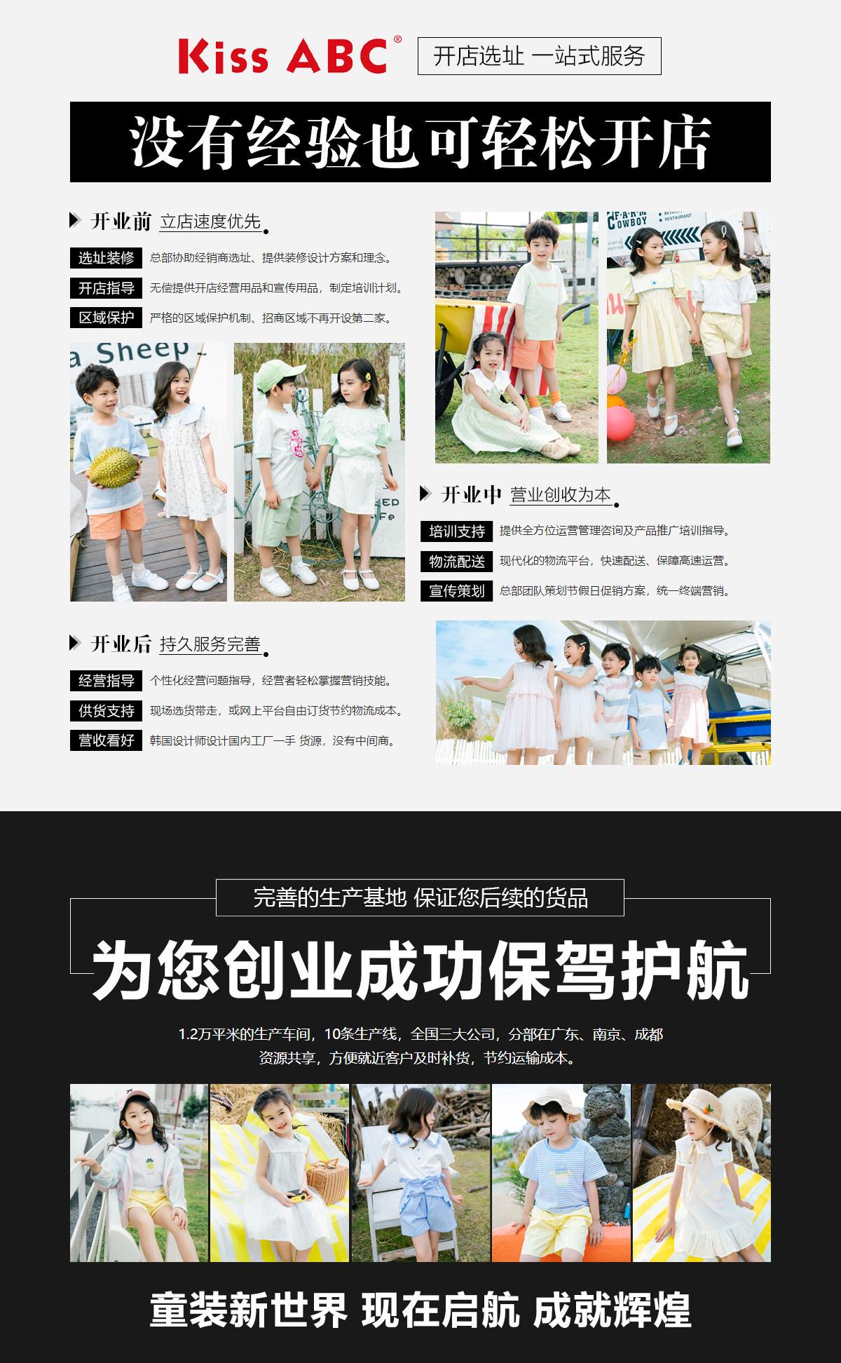 Kiss ABC 快时尚畅销童装品牌